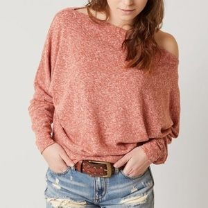 NWT-Free People Valencia Off Shoulder Top